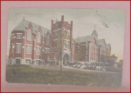 Belleville  Albert College  Ontario  Postcard   Postmarked  1908 - $12.94