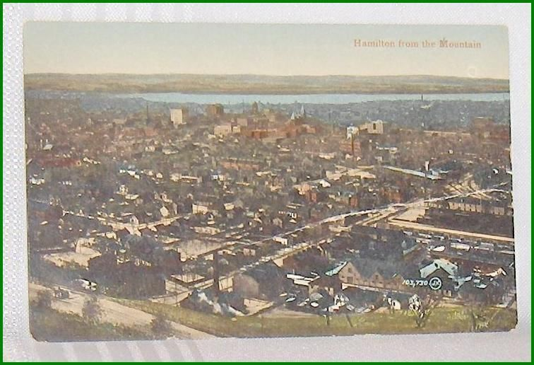 Primary image for Hamilton from the Mountain   Ontario Canada  Postcard