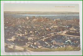 Hamilton from the Mountain   Ontario Canada  Postcard - $6.45