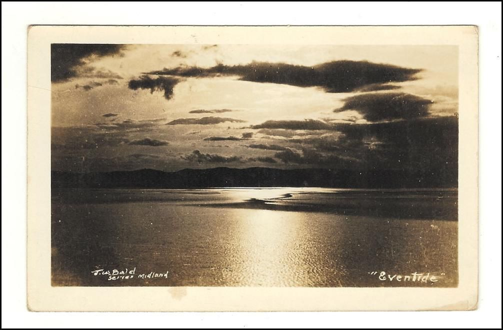 Primary image for Photo Postcard  Eventide J.W. Bald's Series Ontario, Canada
