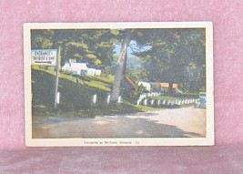Campsite at Midland Ontario  Canada  Colour Postcard - $11.75