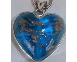 Turquoise gold morano heart a thumb155 crop