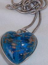 Turquoise gold morano heart a 3 thumb200