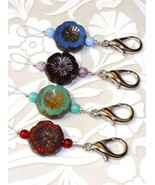 Four Blooms NeedleThreader with clasp needle ac... - $7.00