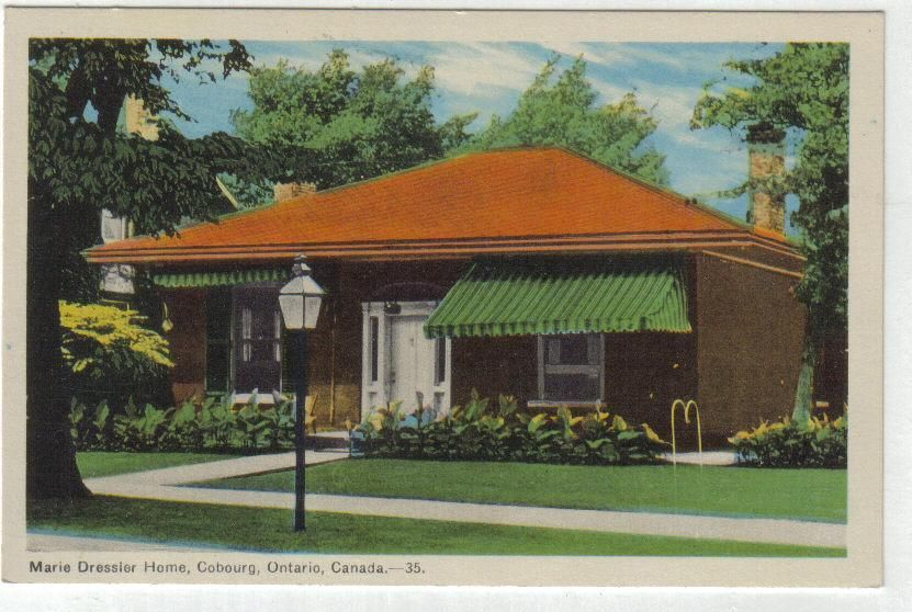 Primary image for Postcard Marie Dressler  Home Cobourg, Ontario