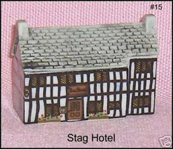 Wade Porcelain  Whimsey on Why House Number 15  Stag Hotel - $24.43