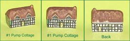 Whimsey on Why Pump Cottage Wade Porcelain House  Number 1 - $14.59