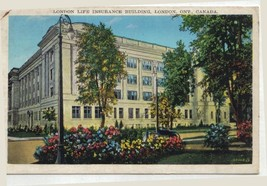 Postcard London Life Insurance Building  London  Ontario - $11.64
