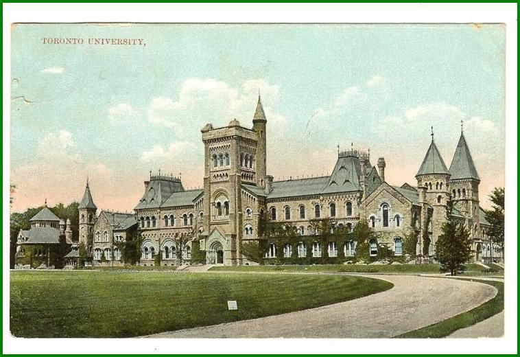 Primary image for Postcard  Toronto University Toronto, Ontario
