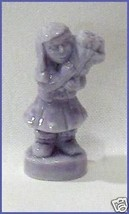 Calendar Series May Girl With Flowers Red Rose Tea  Wade Porcelain - $6.50