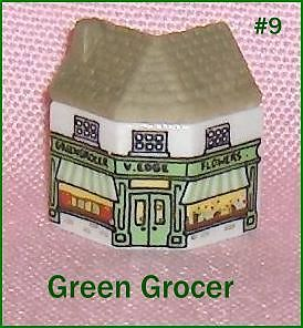 Primary image for Wade  Whimsey on Why Porcelain Building  The Green Grocer House Number 9