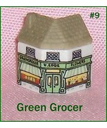 Wade  Whimsey on Why Porcelain Building  The Green Grocer House Number 9 - $16.69