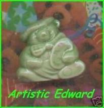 Wade  Porcelain Bear Artistic Edward  Green Color - $14.39