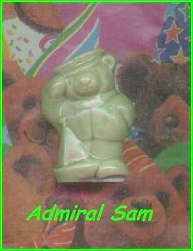 Primary image for Wade Porcelain Bear Admiral Sam    Green Color