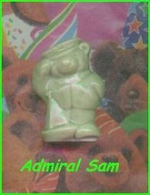 Wade Porcelain Bear Admiral Sam    Green Color - $18.19
