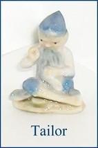 Vintage Leprechaun Tailor   Wade  Porcelain Figure - $17.81
