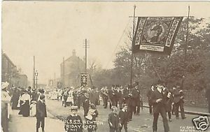 Primary image for Photocard, Parade, St.Paul's.S.S. Newton, 1907 Photo  Postcard