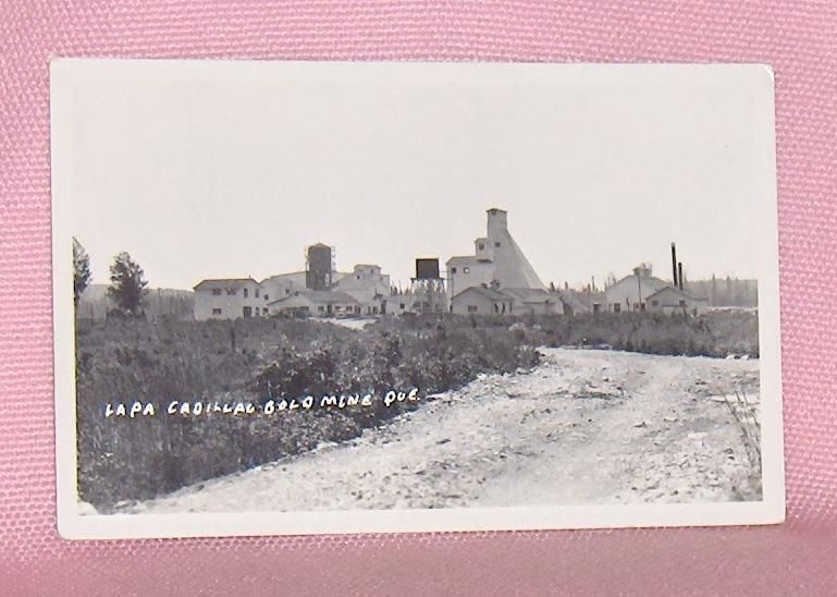 Primary image for Photo Postcard Lapa Cadillac  Gold Mine Quebec