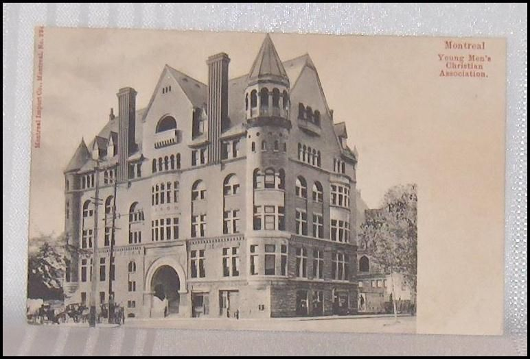 Primary image for Young Men's Christian Association YMCA  Montreal Quebec  Canada Vintage Postcard
