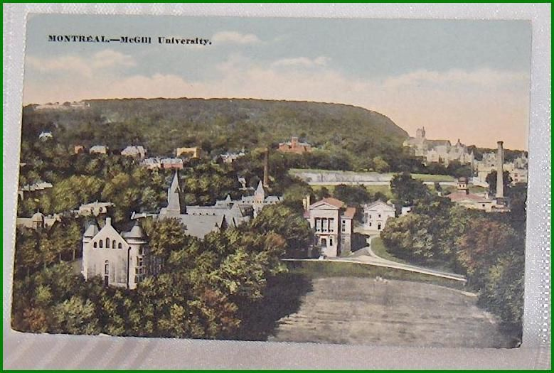 Primary image for Color Postcard View McGill University Montreal Quebec Canada