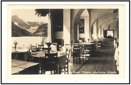 Photo Postcard  Dining Room Chateau Lake Louise Alberta  Canada - $13.59