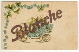 Postcard  with Name Blanche Vintage Color Collectible Card - $8.95