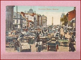 Postcard  Bonsecours Market Montreal Quebec  Canada - $11.38