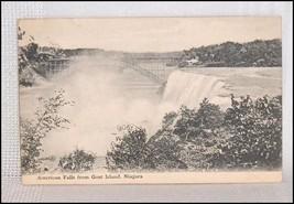 Postcard American Falls from Goat Island Niagara - $2.93