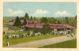 Postcard Dafoe Hospital and Play House of the Dionne Quintuplets at  Cal... - $14.21