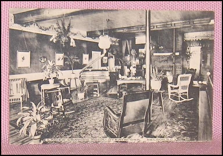 Primary image for Ladies Drawing Room The Strathcona Nelson B.C. Canada Postcard