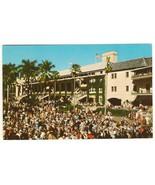 Racing Season at Hialeah Race Course Miami Florida United States Postcard - $5.85