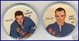 Lot of 2 Hockey Coins - Plastic - 1961-1962 - $11.66