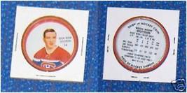 Shirriff Metal Hockey Coin Boom Boom Geoffrion # 34 - $12.94