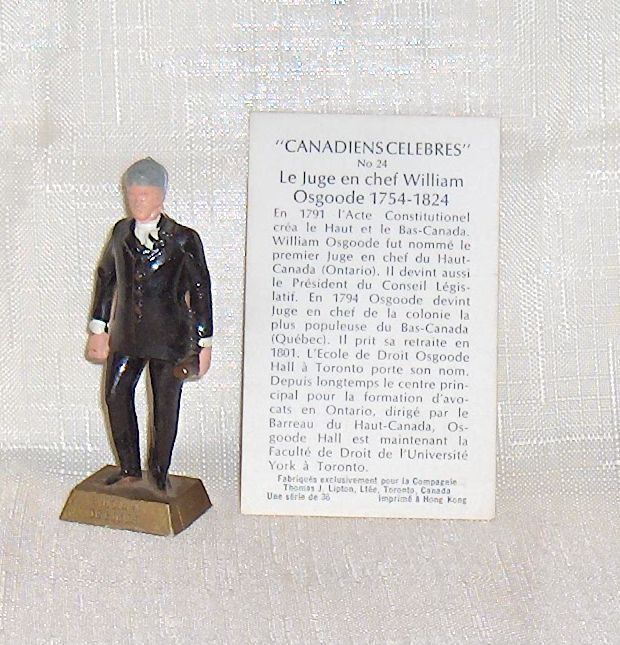 Primary image for Famous Canadians William Osgoode  Number 24  With Information Card