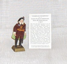 Famous Canadians Daumont de St. Lusson  Number 21  With Information Card - $16.38
