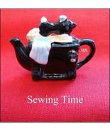 Red Rose Canadian Tea Premium Mini-Teapot Sewin... - $9.71
