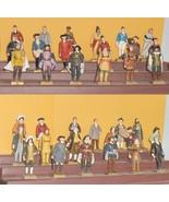 Complete Set 36 Famous Canadians Figures Lipton Tea Premiums - $460.00
