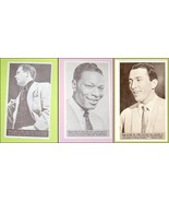Lot of Three  Rock and Roll Trading Cards  Vintage Music Memorabilia - $25.00