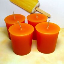 Dreamsicle PURE SOY Votives (Set of 4) - $7.00