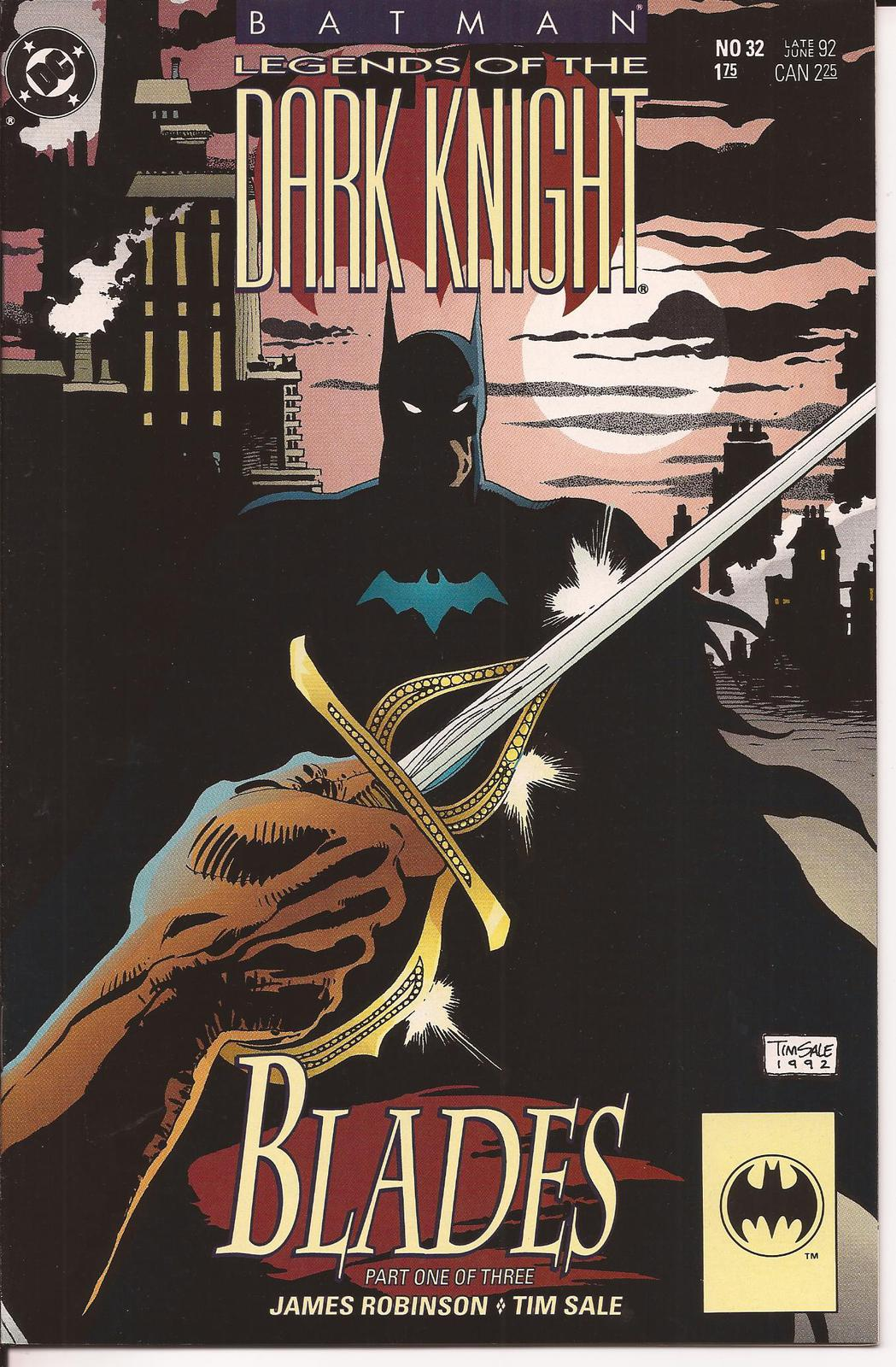 Primary image for DC Batman Legends Of The Dark Knight #32-34 Blades Storyline Bruce Wayne Gotham