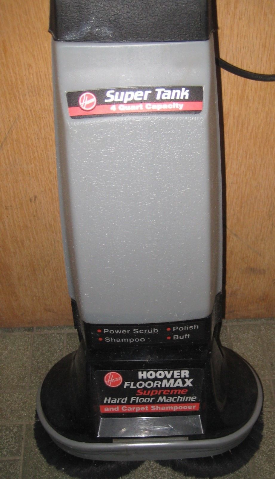 Hoover Floormax Supreme F4300 Carpet Shampooer Super Tank