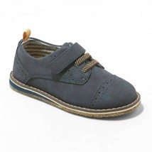 Cat & Jack Toddler Boys Kids Navy Winthrop Faux Leather Loafer Shoes NWT