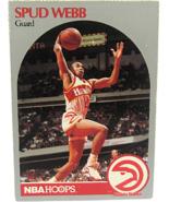 1990 NBA Properties NBA Hoops Atlanta Hawks Spud Webb Guard  - $1.53