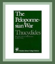 THE PELOPONNESIAN GREEK WAR Athens & Sparta 1st Edition Book - $29.99
