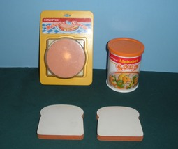Vintage Fisher Price Fun-with-Food #2130 Soup a... - $24.99