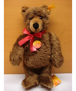 Steiff Teddy Bear Original, mohair, jointed Teddy Bear Collectible, Stei... - $199.99