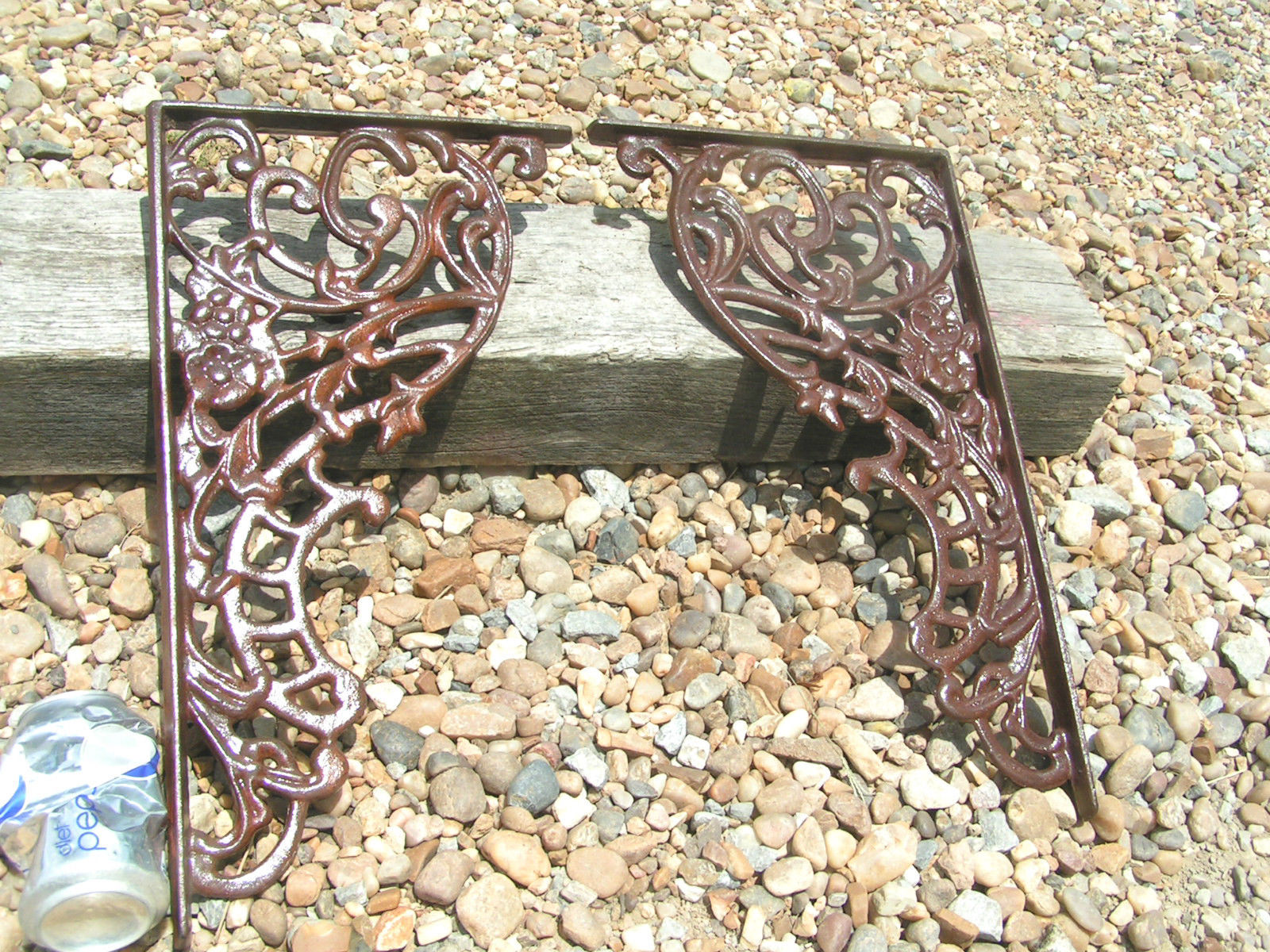 2 Large Cast Iron Corbels Braces Weldable And 36 Similar Items