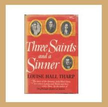 1956 THREE SAINTS AND A SINNER Hardback Romance Book - $29.99