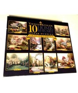 Ceaco Thomas Kinkade 10 Home & Heart Jigsaw Puzzles Collectors Edition 2... - $39.59