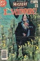(CB-7) 1983 DC Comic Book: House of Mystery #313- I Vampire - $15.00